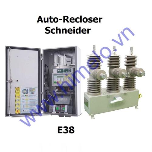 Máy cắt tự đóng lại Auto-Recloser Schneider E38