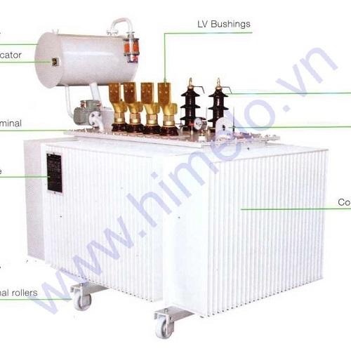 Máy biến áp dầu có bình dầu phụ ABB 22kV