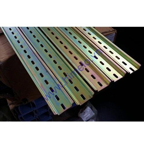 Thanh ray cài thiết bị bằng sắt dầy 1mm