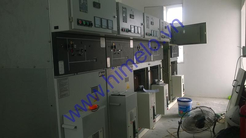 Cấp tủ trung thế Aysan 24kV - Nhà máy kính an toàn Việt Nhật